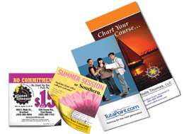 Commercial printing services