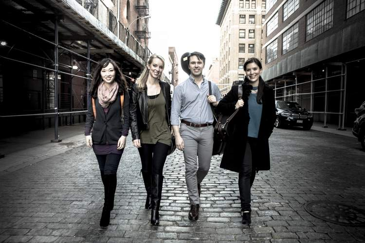 The Solera Quartet will perform at a fundraising concert Friday, May 6 for Project: Music Heals Us at Guilford First Congregational Church, 122 Broad Street, Guilford.   Photo courtesy of Project: Music Heals Us