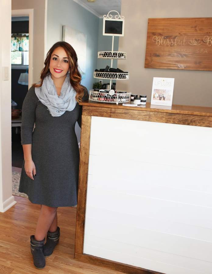 Blissful Beauty Day Spa owner Jessica Searles Photo by Laura Matesky