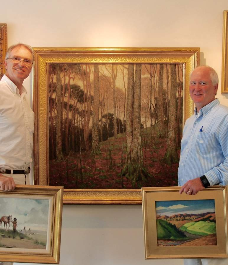 Lotus International Auctions, LLC, o-owners Tom Mason (left) and Bernie Triche. Photo courtesy of Tom Mason