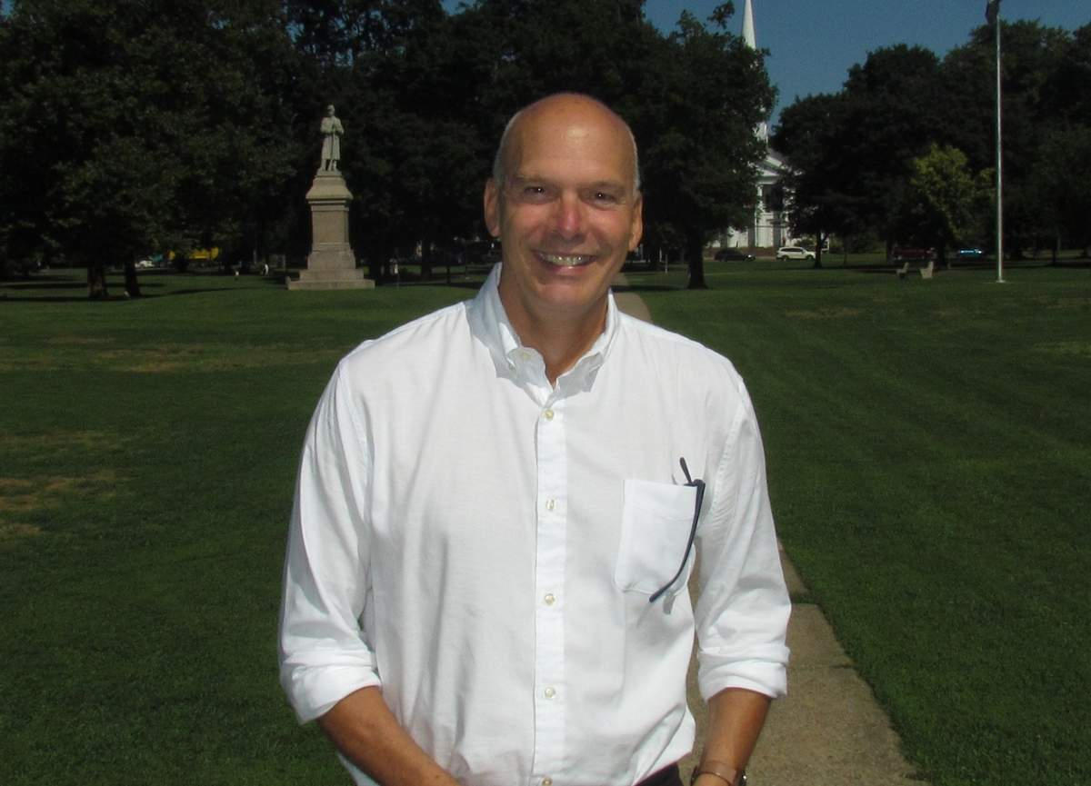 Following its successful 2017 debut, the 2019 Guilford Performing Arts Festival is bringing in more performers to more venues, adding a new teaching component, and creating a central location with a new main tent on the town green. Those are just a few of many reasons why Peter Hawes, the festival's vice chairman and head of programming and marketing, is excited about the return of this biennial event from Thursday to Sunday, Sept. 26 to 29. Photo by Pam Johnson/The Courier