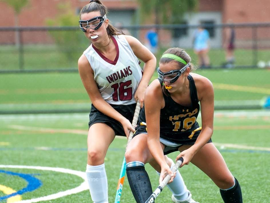 Senior captain Jacqui Sandor and the Hand field hockey squad are looking to use the depth on the roster to produce another solid season in 2019. File photo by Kelley Fryer/The Source