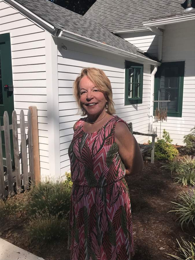 Jennifer Cruet knew Women Recreating Retirement was taking off at Women & Family Life Center (WFLC) when so many women showed up for a meeting, it had to be held outside. Jennifer will be honored on Sunday, Oct. 20 at WFLC's Men Who Cook fundraising gala with WFLC's 2019 Cut Above Award. Photo by Pam Johnson/The Courier