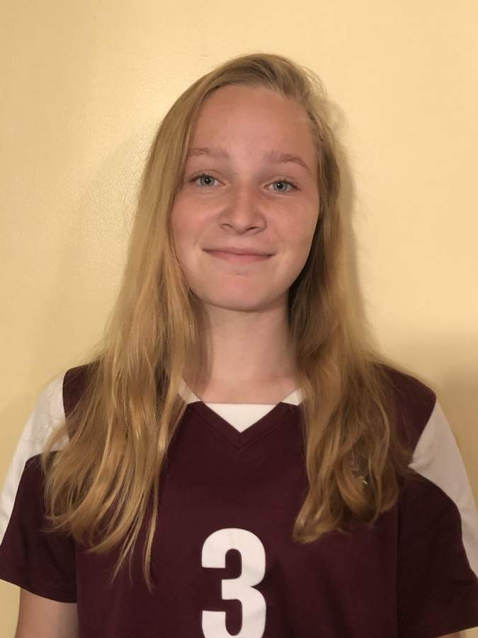 Megan Russo has been a fixture on the soccer field in North Haven and beyond for several years. Megan is currently a junior who plays the midfield for the Indians' girls' soccer team. Photo courtesy of Megan Russo