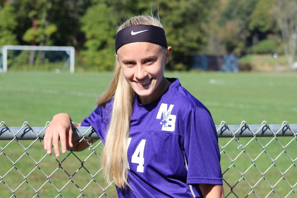 Senior captain Alexie Rosado scored 11 goals to go with nine assists for the North Branford girls' soccer squad this year. Alexie looks forward to playing soccer at Southern Connecticut State University next year. Photo courtesy of Alexie Rosado