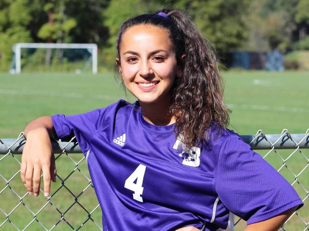 Senior captain Gabbie Sarmento completed her high school career by earning All-Shoreline Conference Honorable Mention for the North Branford girls' soccer squad this fall. Photo courtesy of Gabbie Sarmento