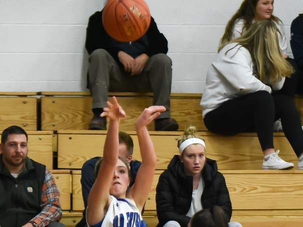 Priscilla Gumkowski and the Rams took a loss to Old Lyme in their season opener. File photo by Kelley Fryer/Harbor News
