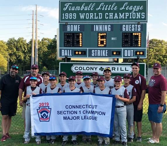 The Max Sinoway Little League Majors All-Star baseball squad had a memorable summer that culminate with an appearance in the state championship game. File photo by Kelley Fryer/The Courier
