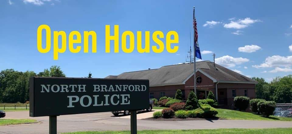 On Saturday, January 18, North Branford Police Department is hosting an open house from 10 a.m. to 2 p.m. Residents are invited to take a tour, ask questions and be informed.  Image from North Branford Police Dept. on Facebook