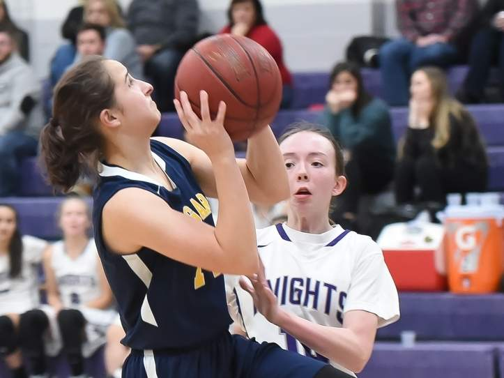 Anna Biondi and the Cougars earned a lopsided win over Old Saybrook in last week's action. File photo by Kelley Fryer/The Source