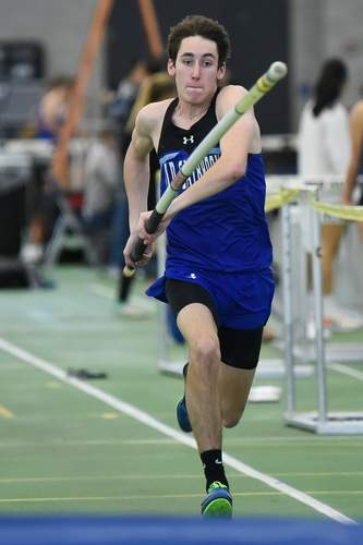 Old Saybrook Girls won the Shoreline Conference Indoor Championship at Floyd Little Athletic Center, and the Boys came in second. Cody DeAngelo  Photo by Kelley Fryer/Harbor News
