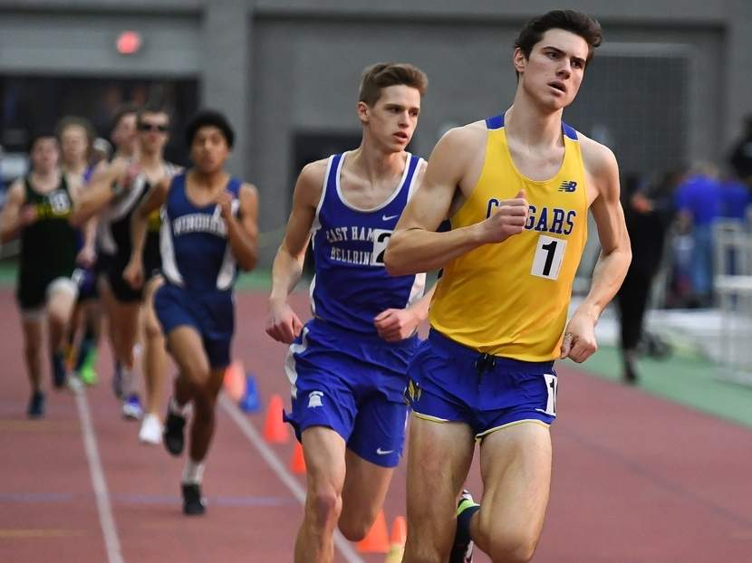 H-K junior Matt Jennings finished third for the 1,000 at the New England Championship in Massachusetts on Feb. 29. File photo by Kelley Fryer/The Source