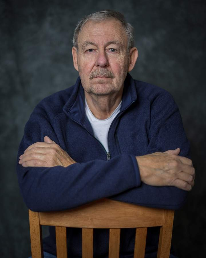 Joe Whitmore, one of the founding members of the North Haven Camera Club, now serves as the club's president. Photo courtesy of Darlene Whitmore