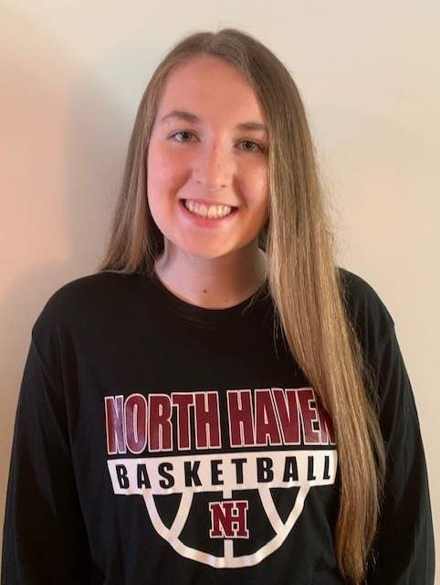Colleen Lucey helped the North Haven girls' basketball squad make great strides while leading the team in a captain's role during her junior and senior campaigns.  Photo courtesy of Colleen Lucey