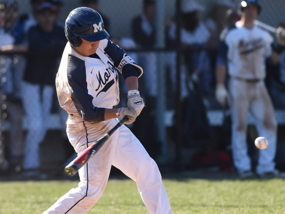 Senior captain second baseman/pitcher Kyle Suraci and the Morgan baseball team were prepared to turn in another solid campaign before concerns about COVID-19 caused the cancellation of the 2020 season.  Photo by Kelley Fryer/Harbor News