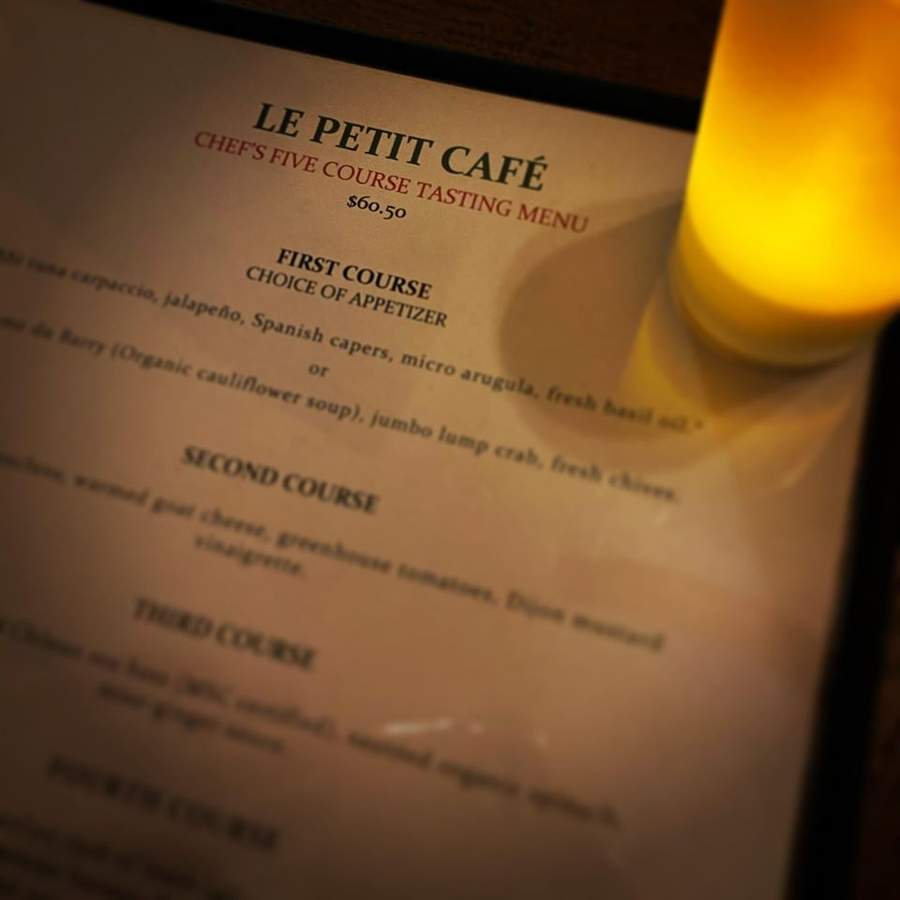 Le Petit Cafe on Montowese street in Branford, a great place for fine dining and celebrations, has opened its doors with a new menu. Photo courtesy of Le Petit Cafe