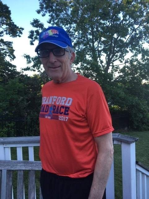 Ray Figlewski feels proud that the Branford Road Race has become an annual favorite in town. Photo courtesy of Ray Figlewski