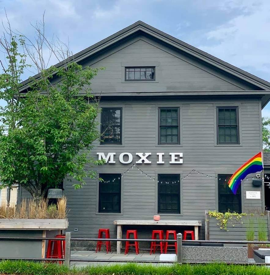Moxie is back with a new chef, a new menu, and outdoor dining. Photo courtesy of Moxie