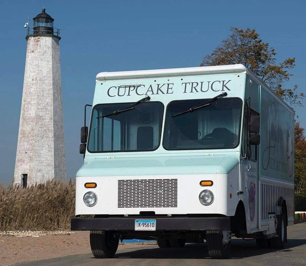Farewell to the Cupcake Truck. You will be missed. But thank goodness we can still get the cupcakes, and more, from the East Haven location of Sugar Bakery. Photo courtesy of Sugar Bakery