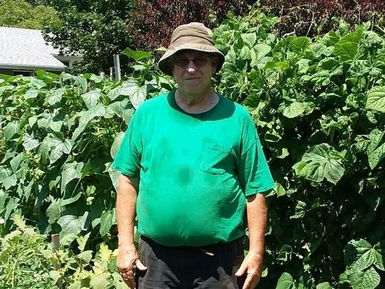 Tony Cutone climbed his way up the ladder in the Deep River Horseshoe League to become a Division A Player after just two seasons. Tony is also an avid gardener, beekeeper, and cook. Photo courtesy of Tony Cutone