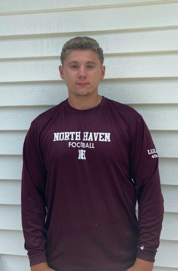 Pat Lillis is excited to lead the North Haven football team as a senior captain, while potentially playing a variety of positions this year. Photo courtesy of Pat Lillis