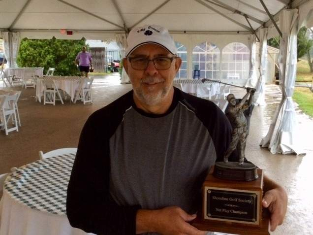 Rafael Martinez of Cromwell earned top honors when the Shoreline Golf Society held its Net Stableford Championship on Aug. 16. Photo courtesy of Michael Dore