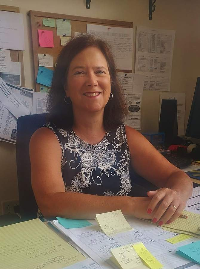 "During this time of pandemic and ""new normal"" Marie Mordarski has taken on the role of volunteer/program coordinator for non-profit Community Dining Room (CDR), based in Branford. Photo courtesy of the Community Dining Room"
