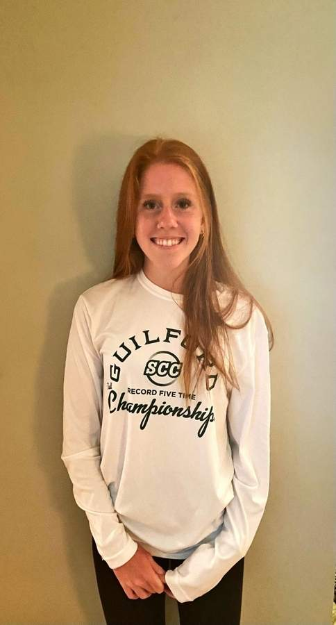 Madden Cunningham played a key role in the Guilford field hockey team's dream season in 2019. Now a senior captain, Madden wants Guilford to experience more success in 2020. Photo courtesy of Madden Cunningham