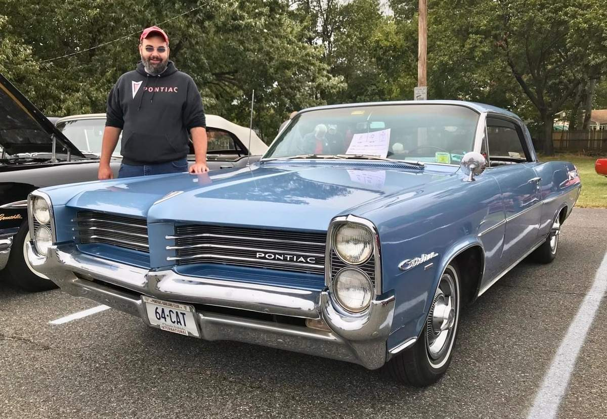 Frank Tupka, a history teacher at Foran High School where he was named teacher of the year, has had a lifelong love of cars.  Photo courtesy of Frank Tupka