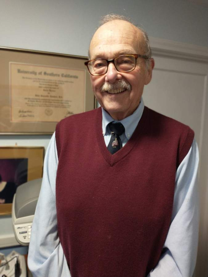 Attorney John Lambert grew up in California and has lived in North Haven for the past 40 years, serving the town in a number of ways throughout that time.   Photo courtesy of John Lambert