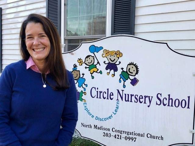 As head teacher of Circle Nursery School in Madison, Shannon Baker enjoys teaching the young children, but adds that she learns valuable lessons from them, as well. Photo courtesy of Shannon Baker