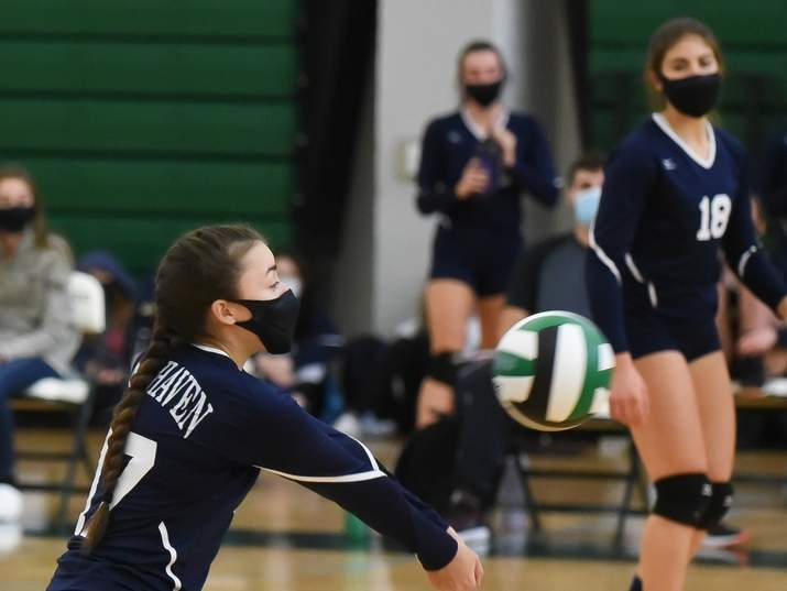 Senior captain Carly Cordova and the East Haven girls' volleyball team shook off some late-season struggles to make their way to the final of the SCC Division C Tournament this year. Cordova earned All-Division honors based on performance at the outside hitter position. File photo by Kelley Fryer/The Courier