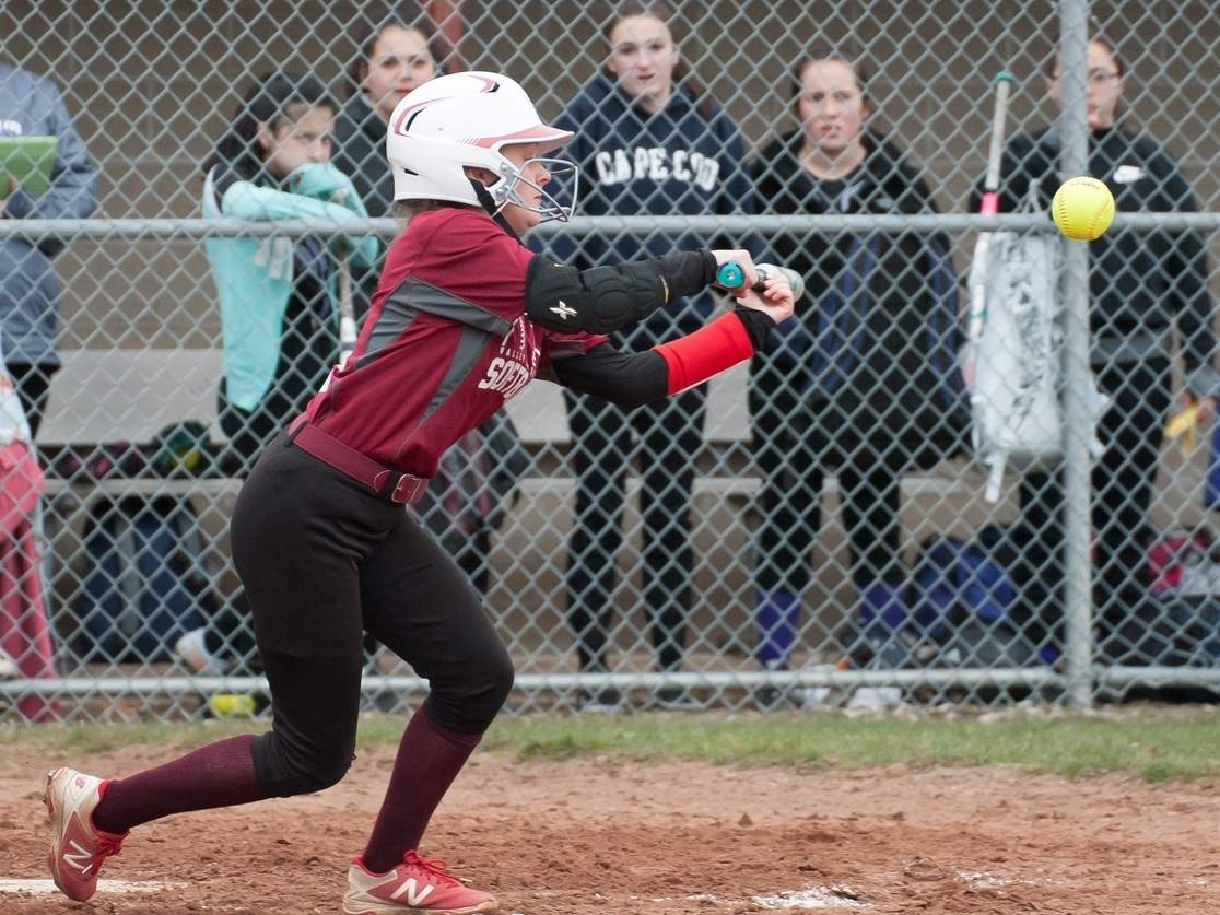 Senior Lexi Ross recently committed to play softball at Saint Peters University in Jersey City, New Jersey. In her previous season playing for the Warriors, Lexi posted a .645 batting average with 39 runs scored. File photo by Kelley Fryer/The Courier
