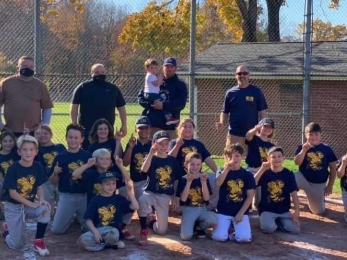 East Haven's U-10 fall ball squad claimed its league title with a mark of 9-1 last fall. East Haven took the title by earning a 5-2 win versus Hamden in its league championship game. Photo courtesy of Peter Gennette