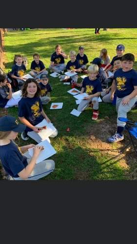 The athletes on the East Haven U-10 fall baseball team had tons of fun while winning plenty of games during the 2020 fall season.   Photo courtesy of Peter Gennette