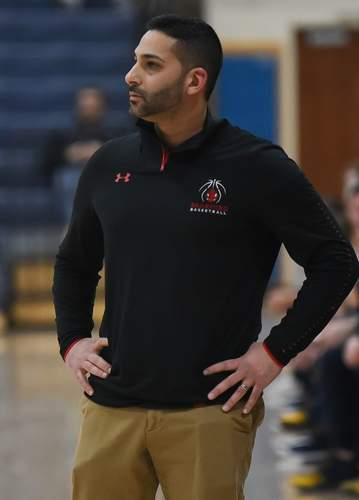 Head Coach Rob Manghnani wants to see his athletes on the Hornets' girls' basketball team get the chance to compete this winter. Branford features a new-look roster with several young players slated to make an impact. File photo by Kelley Fryer/The Sound