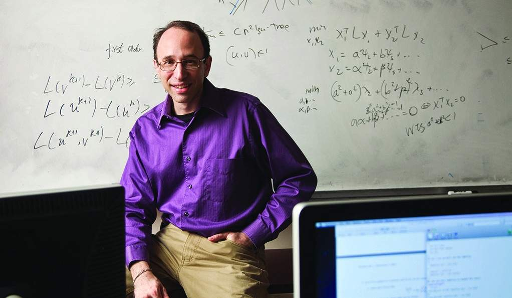 Guilford resident Dr. Daniel Spielman was recently awarded the National Academy of Sciences' Held Prize for his work on the team that answered a mathematical query more than 50 years old. Photo by Kenneth Gabrielsen