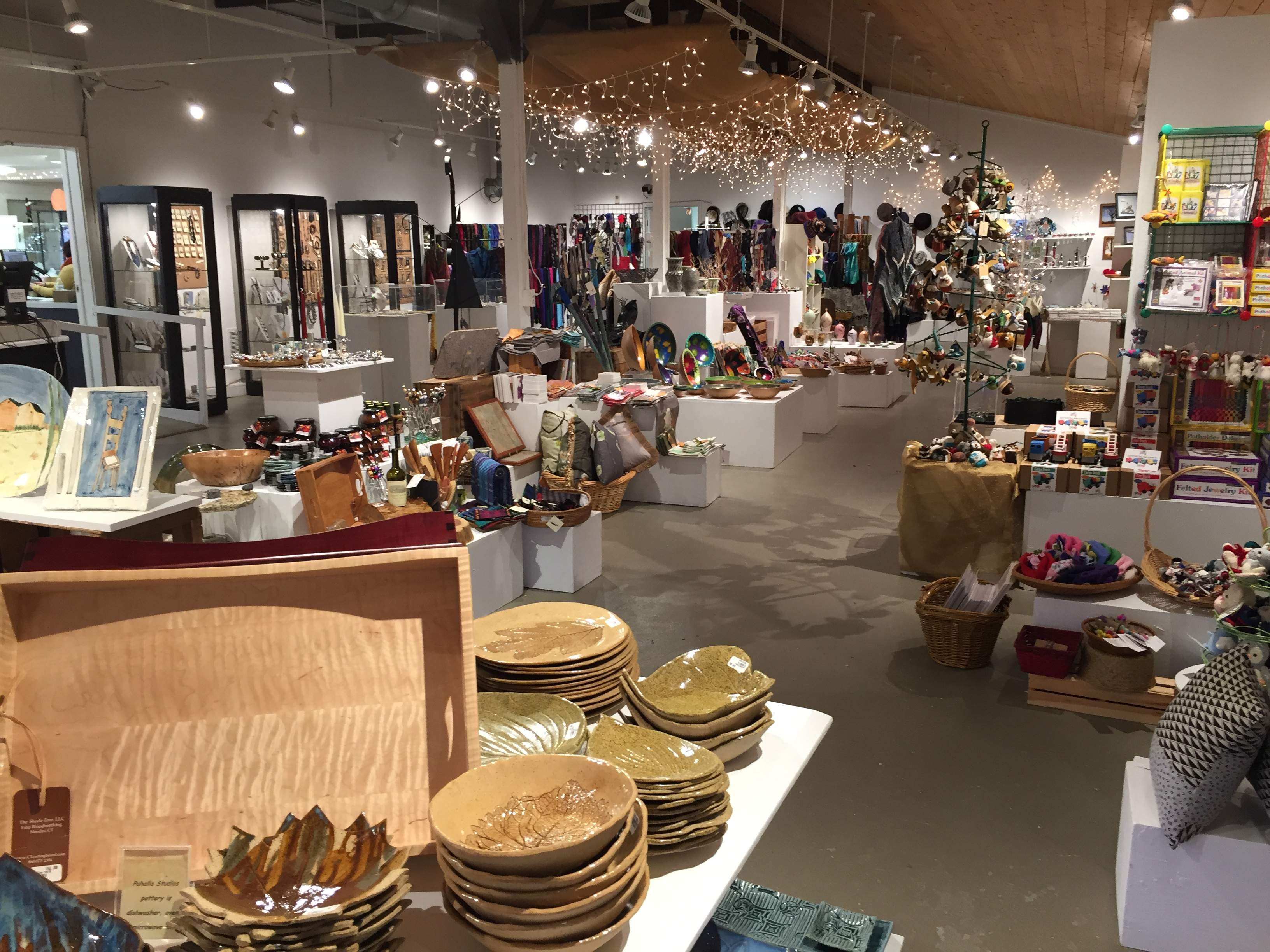 The Holiday Shop at Guilford Art Center