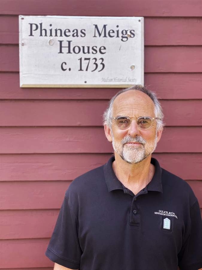 Peter Gulick is a longtime member of the Madison Hose Company No. 1, a volunteer job he finds personally rewarding. He is also a professional restorer of historical and contemporary houses. Photo courtesy of Peter Gulick