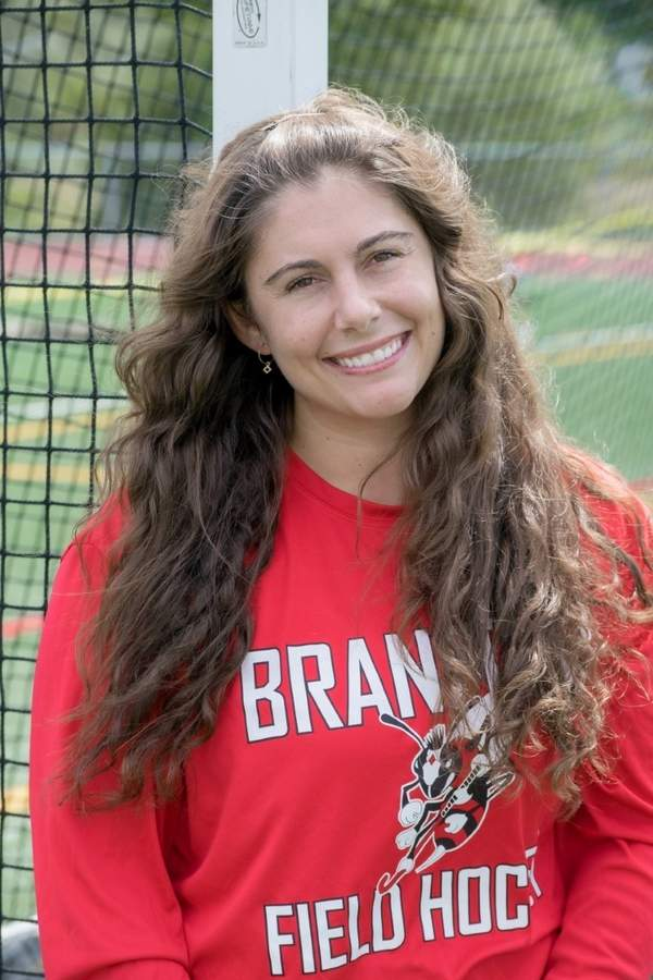 Former Branford field hockey standout Jenna Limone is entering her second season on the Hornets' coaching staff and her first year as a full-time varsity assistant. Jenna also works as special education paraprofessional at East Haven High School. Photo courtesy of Jenna Limone
