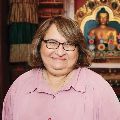 Sharon Salzberg, the author of the new book, Real Change. Photo courtesy of Sharon Salzberg