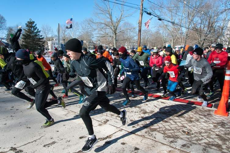 Frosty 5K in 2018. Photo by Wesley Bunnell/The Source