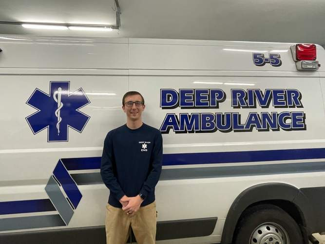 After starting on a path of community service as a boy scout growing up in Essex, Matt Herman continues to serve the community, now as emergency management director in Deep River. Photo courtesy of Matt Herman