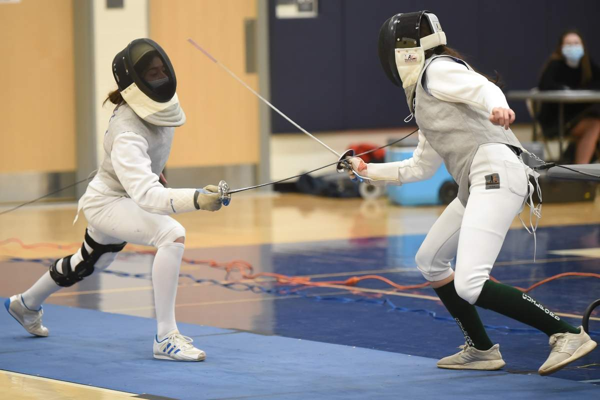Alexandra Wolf  - Foil Photo by Kelley Fryer/Harbor News