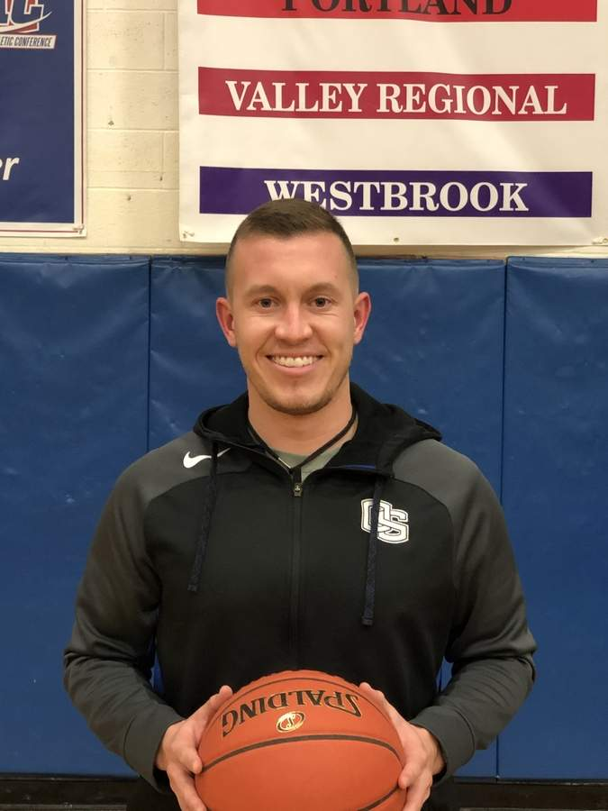 Chris Perras is excited to begin his first full season as head coach of the Old Saybrook boys' basketball team. Chris lives in East Lyme and works at Polson Middle School in Madison as a guidance counselor. Photo courtesy of Chris Perras