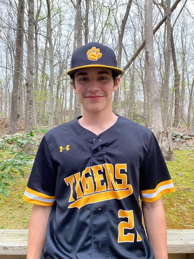 Senior captain shortstop Jack Pireaux is hitting .333 for a Hand baseball team that's sporting a record of 10-0 this spring. Photo courtesy of Jack Pireaux